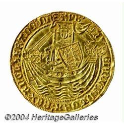 Henry VI (1st reign of 1422-61) gold Noble,