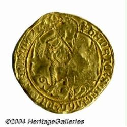 Henry VIII (1509-47) gold Angel, 3rd coinage