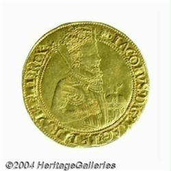 James I (1603-25) gold Unite, 2nd Coinage of