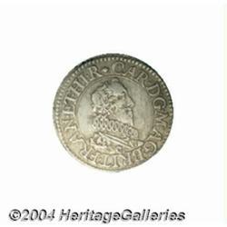 Charles I (1625-49) silver Pattern Half Groat,
