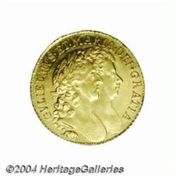 William & Mary gold Guinea 1689, elephant and