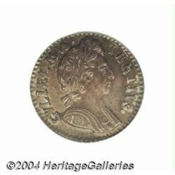William III Farthing in silver 1699, style of