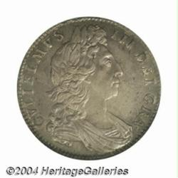 William III Halfcrown 1700, S-3494. 1st bust.