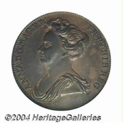 Queen Anne pattern Halfpenny ND, Britannia