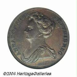 Queen Anne pattern Halfpenny 1713, Thistle