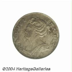 Queen Anne Shilling 1707, S-3610. After Union