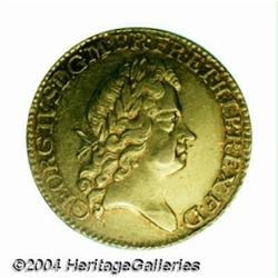 George I gold Guinea 1726, S-3633. 5th head.