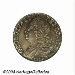 George II Sixpence 1746 LIMA, S-3710A. MS64