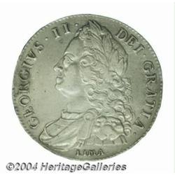 George II Lima Crown 1746, S-3689, DECIMO NONO