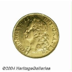 George II gold Guinea 1746, S-3678A.