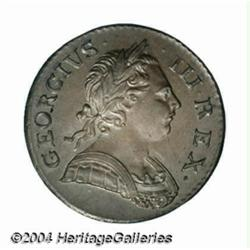 George III copper Halfpenny 1772, S-3774.