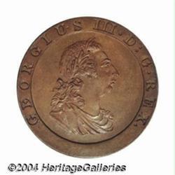 George III Pattern Farthing 1797, Peck-1194,