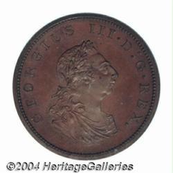 George III Pattern Penny 1805, Peck-1296