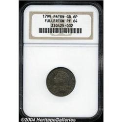 George III silver Pattern Fullerton Sixpence