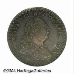 George III Proof 18 Pence 1811, S-3771. Draped