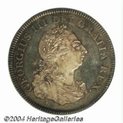 George III Proof Bank Dollar 1804, S-3768.