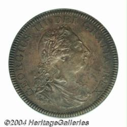 George III copper Proof Bank Dollar 1804.