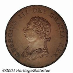 George III copper Proof BOE 5 Shillings &