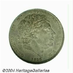 George III uniface Pattern Crown 1818.