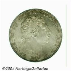 George III Crown 1818, S-3787. LIX edge. 1st