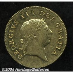 George III gold Half Guinea 1806, S-3737.