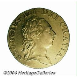 George III gold Guinea 1761, S-3725. 1st