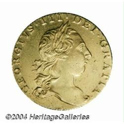 George III gold Guinea 1763, S-3726. 2nd