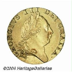 George III gold Spade Guinea 1787, S-3729. 5th