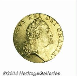 George III gold Spade Guinea 1789, S-3729.