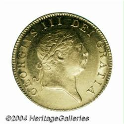 George III gold Guinea 1813, S-3730. Military