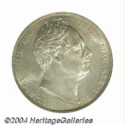 William IV silver Halfcrown 1836, S-3834. MS64