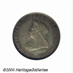 Victoria pattern bronze Farthing 1896,