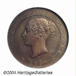 Victoria Pattern Halfpenny 1859, Peck-2017