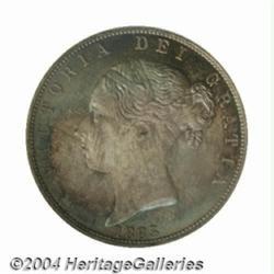 Victoria Young Head Halfcrown 1883, S-3889,