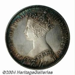 Victoria Gothic Crown 1847, S-3883. Plain