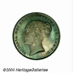 Victoria Young Head Proof Shilling 1839,