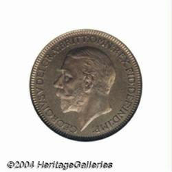 George V bronze Proof Farthing 1934, S-4061.