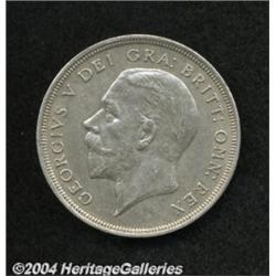 George V silver Wreath Crown 1934, S-4036. Key