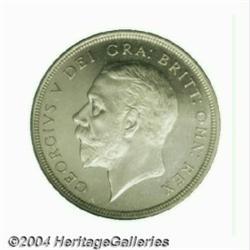 George V Prooflike silver Wreath Crown 1934,