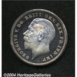 George V REP Crown 1935, S-4050. Choice Proof,
