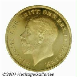 George V REP Crown in gold, 1935, S-4050. Very