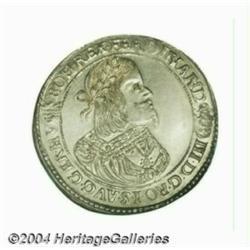 Ferdinand III 1/2 taler 1651KB, Bust