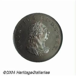 George III Copper Bronzed farthing 1806, Bust