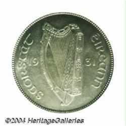 Republic florin 1931, Harp/Salmon, S-6626,