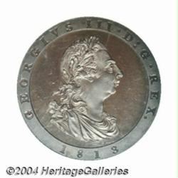 George III Bronzed Proof Penny 1813, Bust