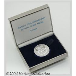 Platinum Medal (1973), commemorating the 25th