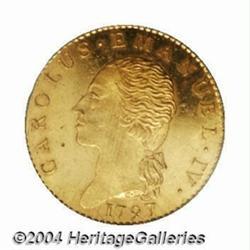 Sardinia. Carlo Emanuele IV gold Doppia 1797,