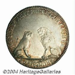 Venice. Alvise IV Mocenigo silver Osella 1766,