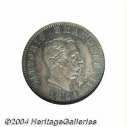 Kingdom. Vittorio Emanuele II 1Lira 1861F,