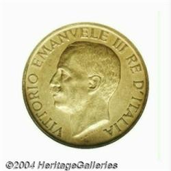 Kingdom. Vittorio Emanuele III 100 Lire 1923R,
